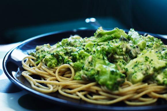 Sos z brokuła do makaronu.