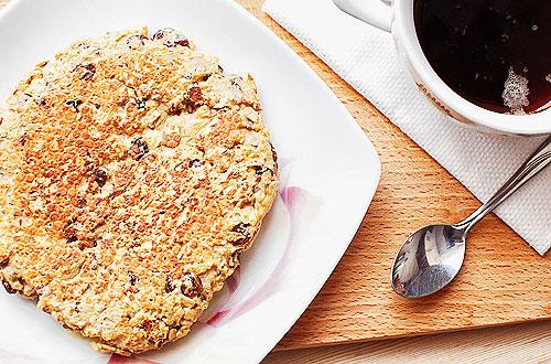 dietetyczny placek śniadaniowy