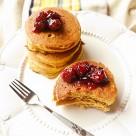 Pancakes dyniowe.