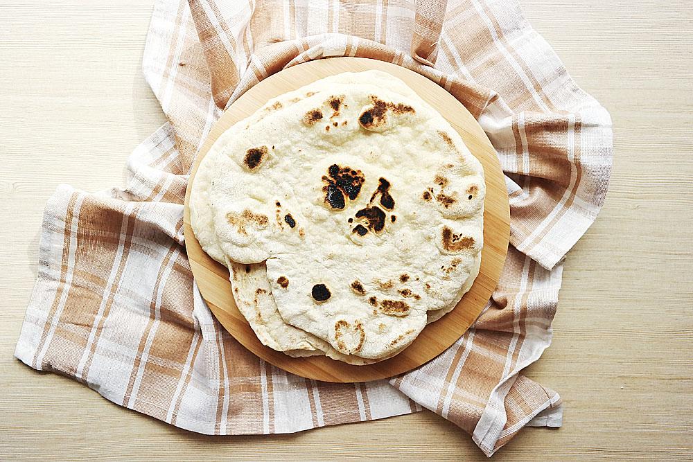 indyjski chlebek naan
