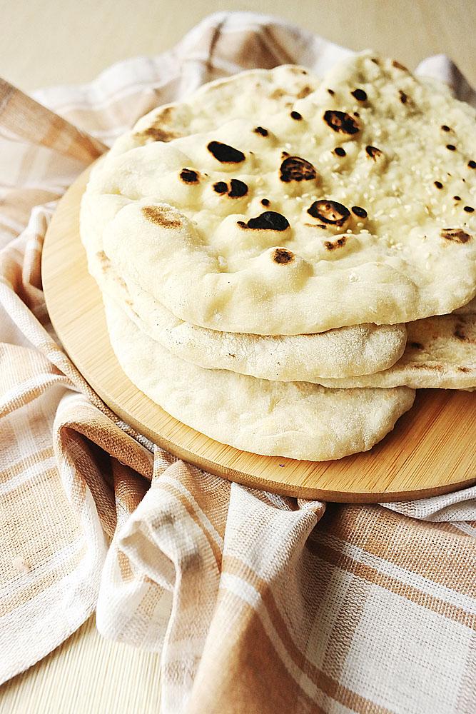 indyjski chlebk naan