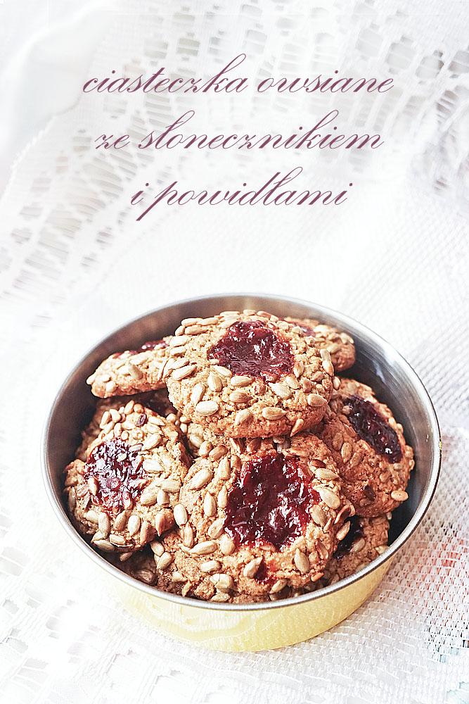 zdrowe ciasteczka bez mąki pszennej